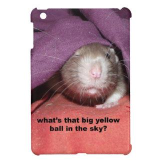 rats talking iPad mini case