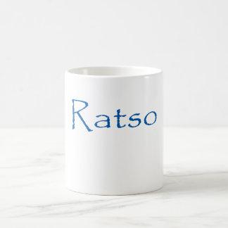 RATSO CLASSIC WHITE COFFEE MUG