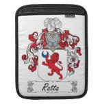 Ratta Family Crest iPad Sleeves