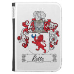 Ratta Family Crest Kindle Cases