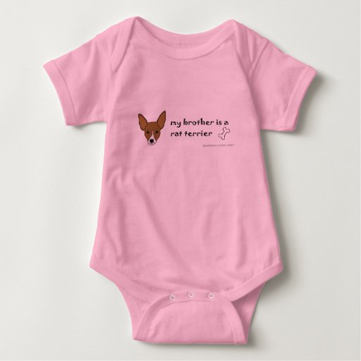 RatTerrierTanWhiteBrother T-shirt