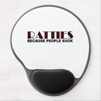 Ratties Because People Suck Gel Mouse Pad
