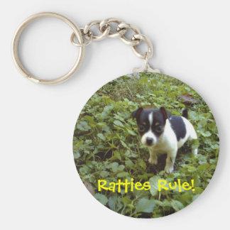 Ratties Rule! key chain