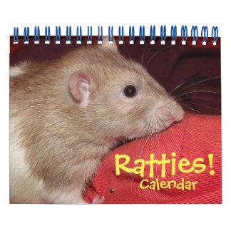 Ratties! (small) calendar