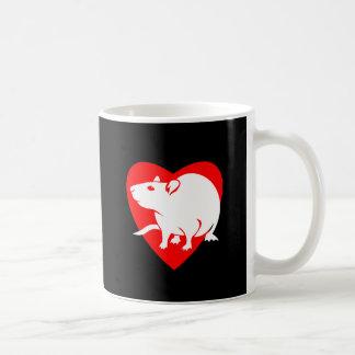 Rattitude Heart Mug