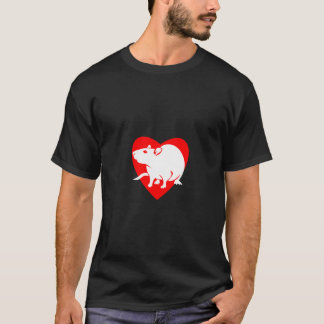 Rattitude heart T-Shirt