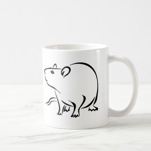 Rattitude, la señora de la rata taza