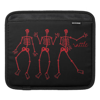 rattle dem bones skeleton dance iPad Air Sleeve For iPads