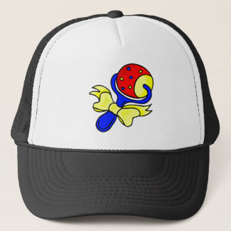 rattle primary colors trucker hat