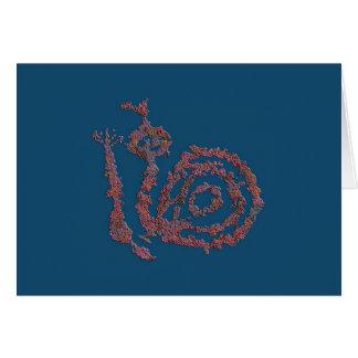 Rattle Snake, Animal Image 1 Card