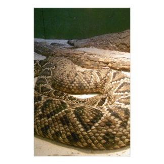 Rattle Snake Customized Stationery