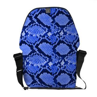 Rattler azul bolsa de mensajeria