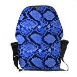 Rattler azul bolsa messenger
