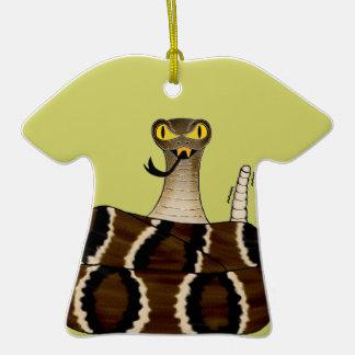 Rattler Adorno De Cerámica En Forma De Camiseta