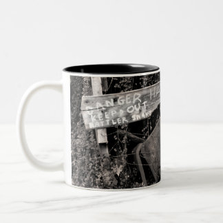 Rattler Snaks Two-Tone Coffee Mug