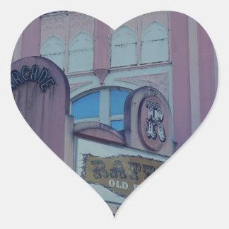 Rattlers Saloon 2 Heart Sticker