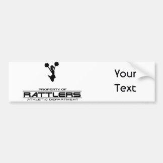 Rattlers T-shirt311 Pegatina De Parachoque