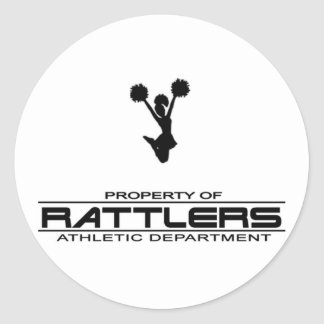 Rattlers T-shirt311 Classic Round Sticker