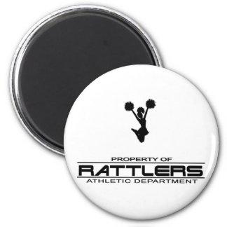 Rattlers T-shirt311 Imán Redondo 5 Cm