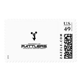 Rattlers T-shirt311 Postage Stamps