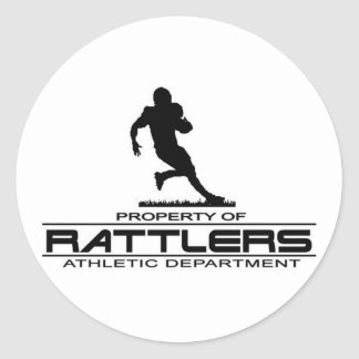 Rattlers T-shirt411 Classic Round Sticker