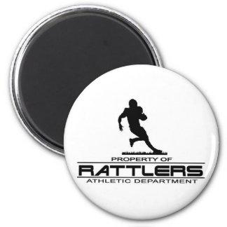 Rattlers T-shirt411 Imán Redondo 5 Cm