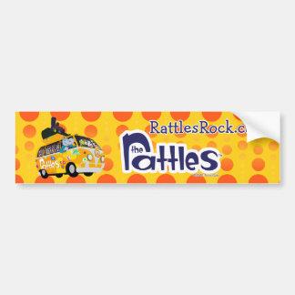 """""""Rattles Rock"""" Bumper Sticker"""