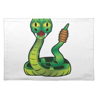 rattlesnake bite placemat