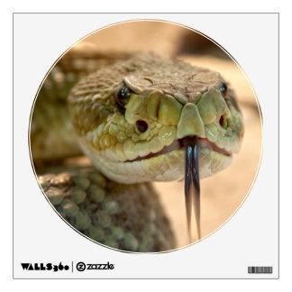 Rattlesnake Closeup Photo Wall Decal