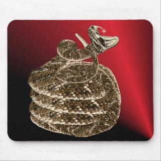Rattlesnake fangs Mousepad