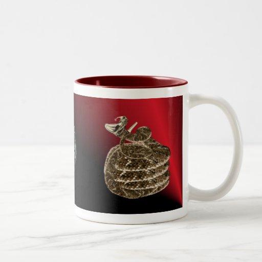 Rattlesnake fangs Mug