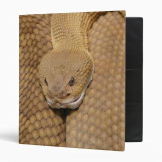Rattlesnake Head Vinyl Binders