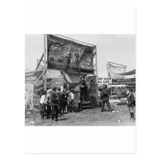 Rattlesnake Joe Sideshow, 1920s Post Cards