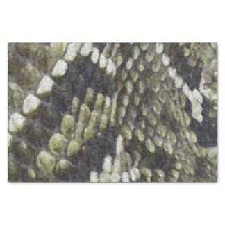 Rattlesnake Print Pattern Background Tissue Paper