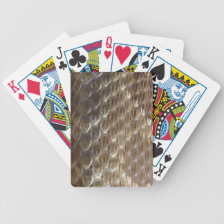 rattlesnake scales bicycle playing cards