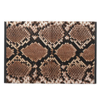 Rattlesnake Snake Skin Leather Faux Case For iPad Air