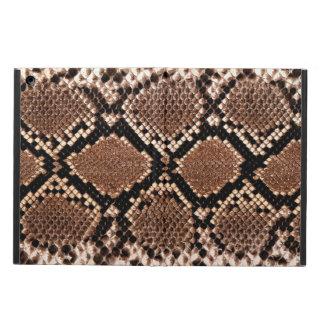 Rattlesnake Snake Skin Leather Faux iPad Covers