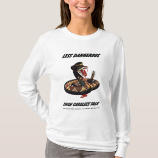 Rattlesnake War Poster T-Shirt