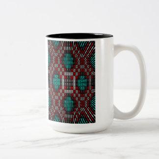 'Rattlesnake Water' Two-Tone Coffee Mug