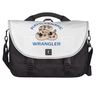 RATTLESNAKE WRANGLER LAPTOP MESSENGER BAG