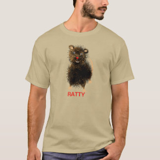 Ratty The  Whimsical Funny Cute Rat T-Shirt