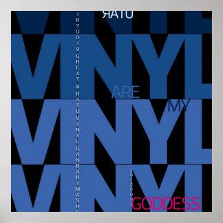 Ratu Vinyl is My Gorgeous Goddess Posters