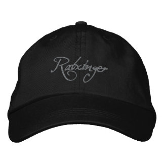 Ratzinger Baseballcap black Embroidered Baseball Hat