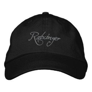 Ratzinger Baseballcap black Embroidered Baseball Caps