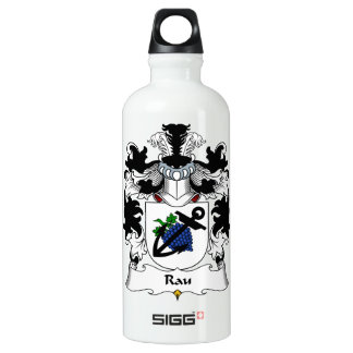 Rau Family Crest Water Bottle