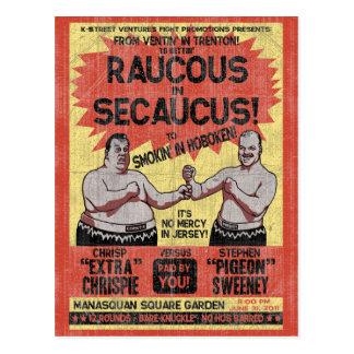 Raucus in Secaucus Postcard