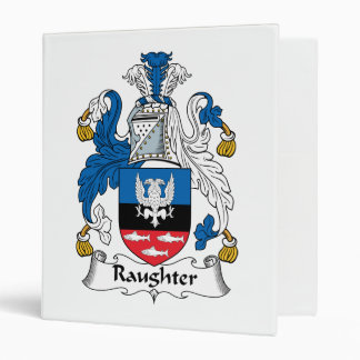 Raughter Family Crest Binder