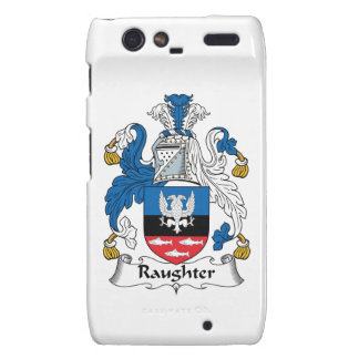 Raughter Family Crest Droid RAZR Covers