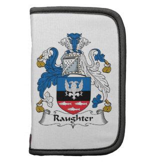 Raughter Family Crest Folio Planner