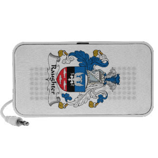 Raughter Family Crest iPhone Speakers